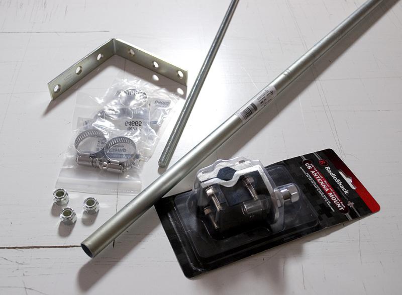 Homemade 2M/440 J-Pole for $35 – KK4ICE