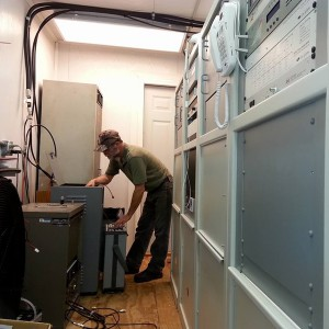 Installing and performing final tuning and testing of a six-cavity set of duplexers for KE4COL.