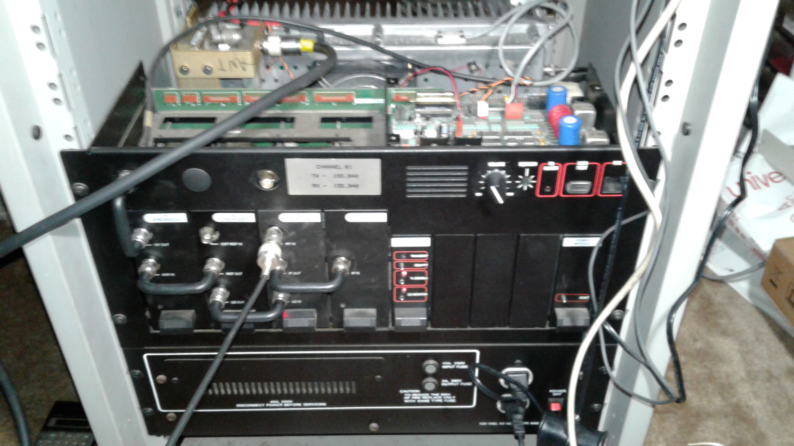 Another Mastr III Repeater Conversion – KK4ICE