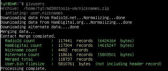 Registered DMR User Databases Still Experiencing Rapid